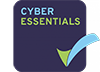 Cyber Essentials logo - certified by CHECK approved tester